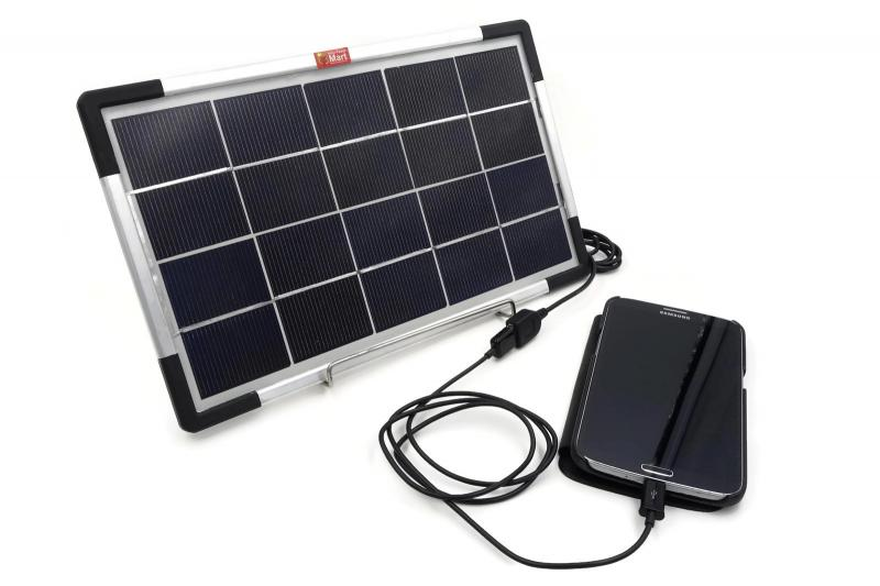 6W USB Solar Panel DIY Lighting Kit