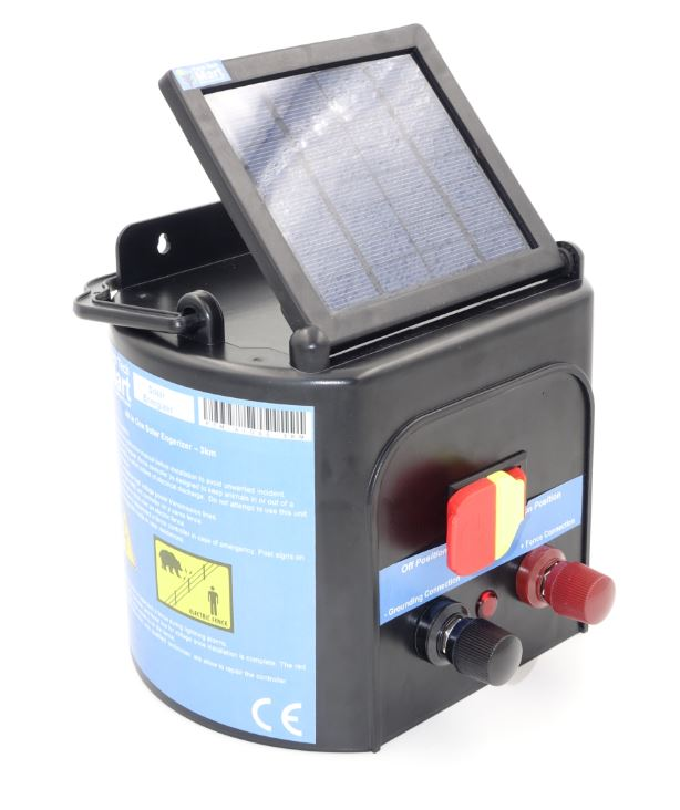 All In One Solar Electric Fence Energizer