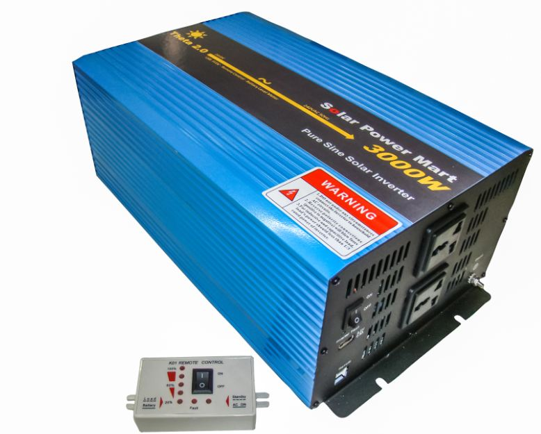 Theta 2.0 Pure Sine Wave Inverter with Remote Control